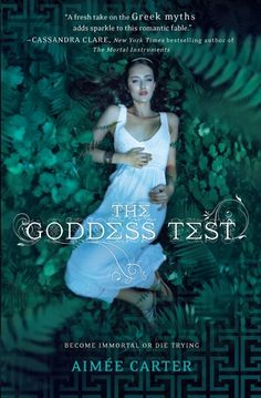 The Goddess Test by Aimee Carter.  Such a good book! It was my first reading of the summer and I'm so glad it was!  It had me pulling for Henry and Kate the whole time and I can't wait to read the next one!