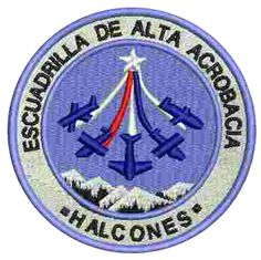 "The ""Halcones"" are the Chilean Air Force aerobatic display team.The team operates with a total of seven Extra 300L airplanes, but only five aircraft actually fly in the demonstrations. The team's planes are each equipped with white smoke generators.Each new Halcones aerobatic team pilot begins to ..."