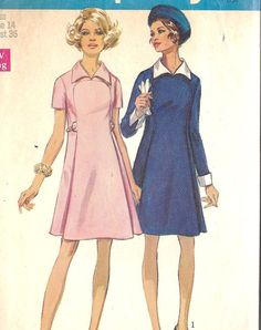 1960s Misses A Line Dress Vintage Sewing by MissBettysAttic, $8.00