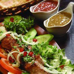 Салат из морепродуктов ираклия пирцхалава