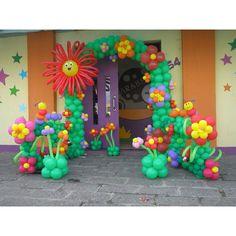 Ballon garden