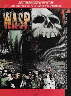 Heavy Metal, Metal Albums, Wasp, Hard Rock, April 3, Music, Movie Posters, Contents, Facebook