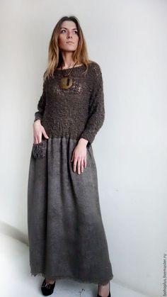 """Платья ручной работы. Платье в стиле бохо """"Белла К 1"""". Boho love. Интернет-магазин Ярмарка Мастеров. Однотонный"""