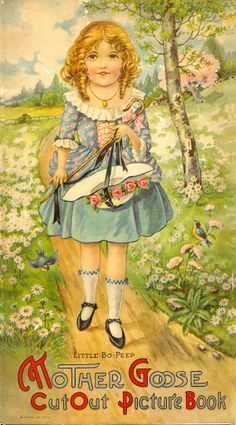 MOTHER GOOSE 1930's National Art - Bobe Green - Picasa Albums Web