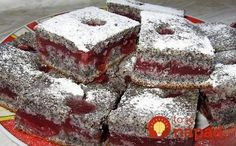 An amazing poppy pie Healthy Dessert Recipes, Cake Recipes, Snack Recipes, Cooking Recipes, Hungarian Cake, Hungarian Recipes, Hungarian Food, Grilled Cheese Avocado, Czech Recipes