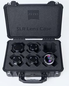 $6,000 Case of Carl Zeiss Prime SLR Lenses - ohhh god, I want it