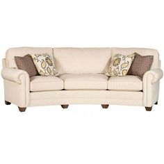 Check out this brand..very customizable..we can find where they sell....King Hickory Winston Conversation Sofa KH-7465-F