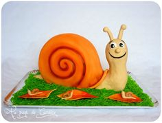 Gâteau escargot  (pâte à sucre)