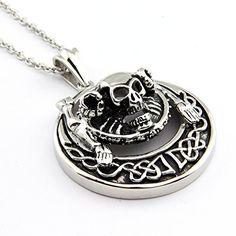 Hpolw Men Skeleton Ghost Personality Black Silver Skull 316l Stainless Steel Necklaces Pendants Hpolw http://www.amazon.com/dp/B00Y8JXUKG/ref=cm_sw_r_pi_dp_FW.5vb02WGQJV