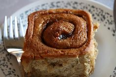 whole wheat cinnamon rolls with apple butter