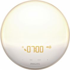Philips - Wake-Up Light - White/Gray - Front Zoom