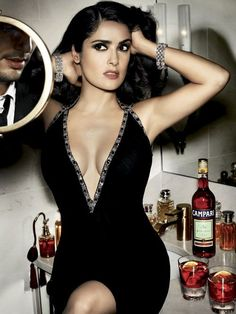 Salma Hayek is my all time fav! Intelligent, gorgeous,& curvy but healthy!
