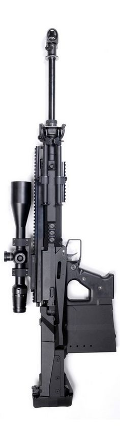 The GM6 Lynx. With a unique recoil barrel system chambered in .50 BMG