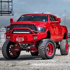 Lowered Trucks, Jacked Up Trucks, Dodge Trucks, New Trucks, Custom Trucks, Cool Trucks, Pickup Trucks, Dodge Ram Diesel, Dodge Cummins