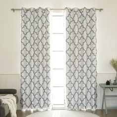 Found it at Wayfair.ca - Moroccan Tile Faux Silk Blackout Single Curtain Panel