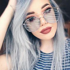 Trap White Oversized   #oversizedsunglasses #accessories #chic #sunglasses #womensfashion #fun