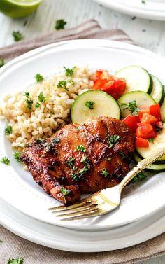 Low FODMAP and Gluten Free Recipes - Glazed chicken