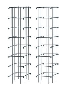 Tall Tomato Cages   Tomato Tower, Set of 2   Gardeners.com