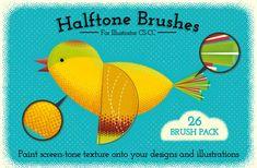 Illustrator Halftone Brushes