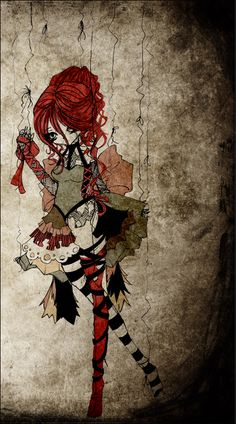 marionette by *linkitty on deviantART