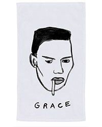 GRACE JONES BEACH TOWEL