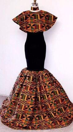 Ankara Clothing/African dresses for women/ African Clothing for women/ Ankara design/Ankara fashion/Ankara party dress/ Ankara wears African Prom Dresses, African Dresses For Women, African Attire, African Wear, African Fashion Dresses, African Women, Ankara Fashion, Nigerian Fashion, Ghanaian Fashion