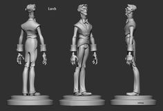 Lurch of Addams Famliy redesign in Zbrush