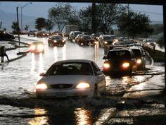 Deja lluvia y granizada inundaciones y caos vehicular | Info7 | Nuevo León