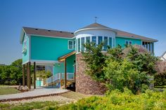 Mermaid Haven 64 | (5 Bedroom Soundside House) | Outer Banks Vacation Rentals | Avon Vacation Rentals | #OBRrentals #OuterBeaches