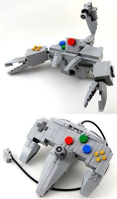 """#Lego N64 Controller Robot by """"Baron"""" Julius von Brunk"""