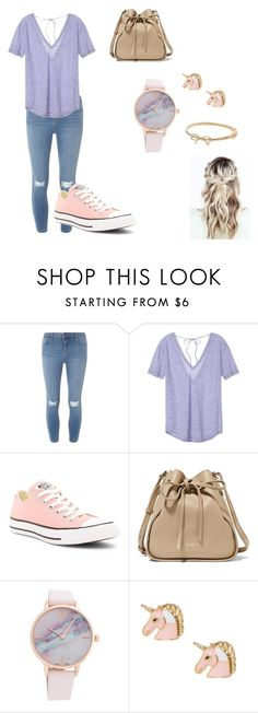 """""""Random#2"""" by samanthak-24 ❤ liked on Polyvore featuring Dorothy Perkins, Victoria's Secret, Converse, Nina Ricci and Kate Spade"""