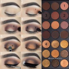 Stunning Eyeshadow Tutorial For Beginners Step By Step Ideas - make up for beginners step by step Stunning Eyeshadow Tutorial For Beginners Step By Step Ideas - Page 12 of 69 Makeup 101, Makeup Goals, Skin Makeup, Makeup Inspo, Eyeshadow Makeup, Makeup Inspiration, Eyeshadows, Applying Eyeshadow, Makeup Ideas
