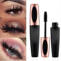 Silk Fiber Eyelash Mascara - Health&Beauty - Eye Make up Fiber Lash Mascara, Mascara Wands, Fiber Lashes, Mascara With Fibers, Makeup Tips, Beauty Makeup, Eye Makeup, Makeup Brush, Nail