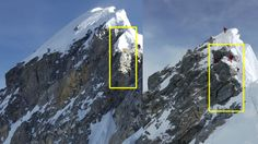 Ascending Everest may be easier now that one of the most difficult features en route to the summit has crumbled, veteran mountaineers say. Zhangjiajie, Mount Everest Climbers, Everest Mountain, Climbing Everest, Rock Climbing Gear, Mountain Climbers, Mountain Biking, Survival, Travel Icon
