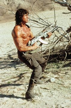 500 Pop Culture Halloween Costume Ideas Rambo  What to wear: A black tank, cargo pants, and a bandanna. How to act: Pick up a plastic machine gun and speak using your best Stallone accent.