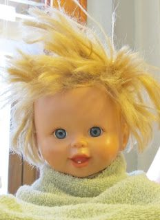Snippets of My Family, Faith, and Crafting: How to Detangle Doll Hair