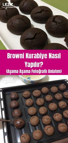 How To Make Browni Cookies? (Step by Step with Photo Expression) – My Delicious Food – The World Brownie Cookies, Vegan Chocolate Brownies, How To Make Brownies, Good Food, Yummy Food, Honey Garlic Chicken, Food Menu, Quick Easy Meals, Food And Drink