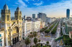 """L'avenue """"Tunisie"""""""