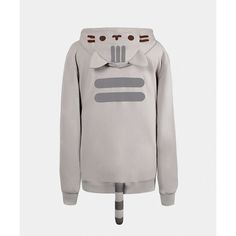 Pusheen the Cat unisex costume hoodie ($55) ❤ liked on Polyvore featuring tops, hoodies, cat print top, sweatshirts hoodies, cat hoodie, unisex hoodies and hooded sweatshirt