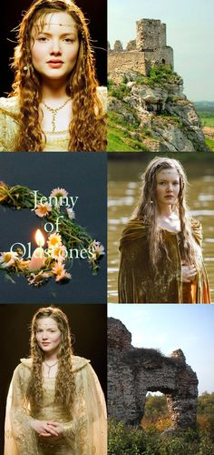 Jenny of Oldstones was the wife of Duncan, the Prince of Dragonflies.