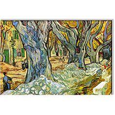@Overstock - Artist: Vincent Van Gogh   Title: Roadman  Product type: Canvas art http://www.overstock.com/Home-Garden/Vincent-Van-Gogh-Roadman-Canvas-Art/5170168/product.html?CID=214117 $124.99