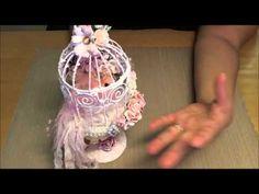 Shabby Chic Bird Cage
