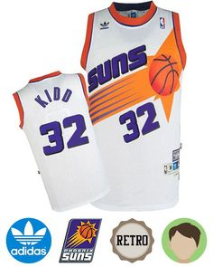 Support your favorite team in comfort with the Kids  Adidas Phoenix Suns  32  Jason ef333ca2f