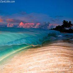 Image name: Tropic Flow #northshore #hawaii #dusk #clarklittle  ⚡⚡⚡ Nikon d300/sb800 flash #Padgram