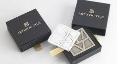Artistic_tile-tray-in-sleeve-box___1  #packaging #packagingdesign #creativedesign #marketing #marketingdesign #taylorboxcompany