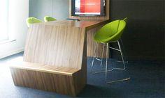 Level table, Level tafel, kantine, school, statafel kantoor  Level, 2011 • Designer: Han Dicke • © Lande