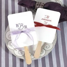 Wedding favors and personalized wedding favors with accessories including beach wedding favors, candle wedding favors and wedding favor ideas Summer Wedding Favors, Candle Wedding Favors, Personalized Wedding Favors, Bridal Shower Favors, Wedding Ideas, Summer Weddings, Party Favors, Wedding Inspiration, Paper Fans Wedding