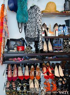 Taylor Tomasi-Hill's closet