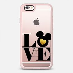 Gold Mickey Disney Love