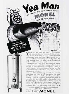 1930 monel ad